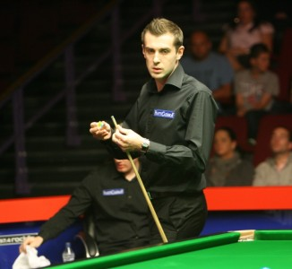 Mark Selby is out of the World Championship.
