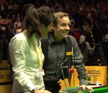 Ali Carter beat Adam Duffy in his first match since receiving the all-clear from testicular cancer.