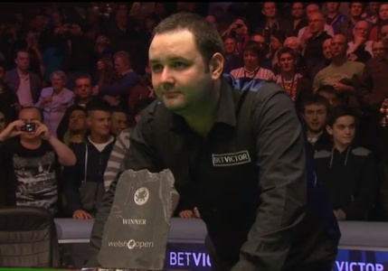Stephen Maguire is Welsh Open 2013 champion after beating Stuart Bingham 9-8 in Newport.