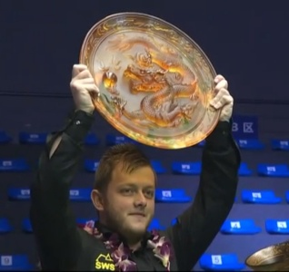 Mark Allen is Haikou World Open champion for the second year running