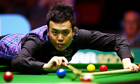 Marco Fu will have to qualify for the World Championship after suffering a first round exit in the opening day of the China Open.