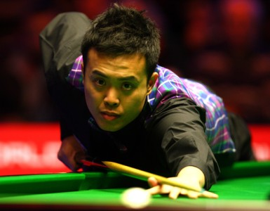 Marco Fu beat Matthew Stevens to reach the second round of the World Championship.