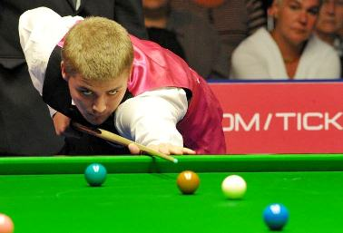Michael White knocked out Mark Williams in the first round of this year's World Championship.