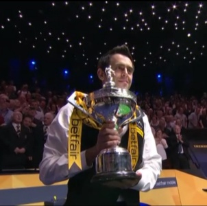 Ronnie Wins 2013 World Championship