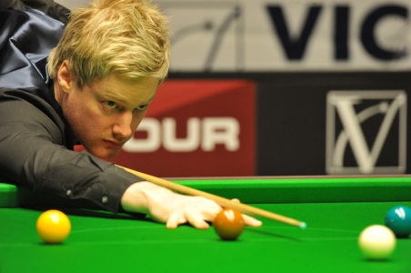 Neil Robertson. Picture by Monique Limbos