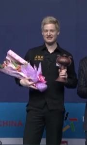 Neil Robertson won the 2013 Wuxi Classic