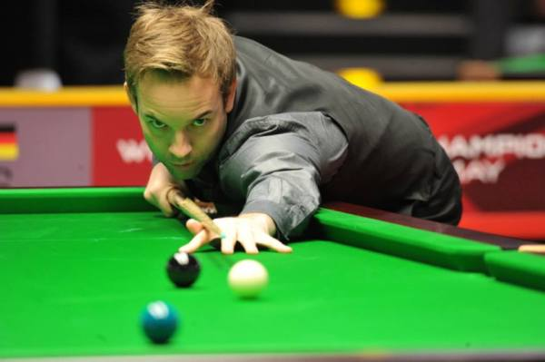 Ali Carter lost out in the German Masters Final. Picture by Monique Limbos