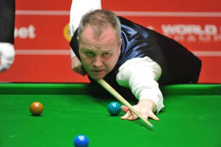 John Higgins. Picture by Monique Limbos