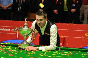 Mark Selby 2014 world champion. Picture by Monique Limbos