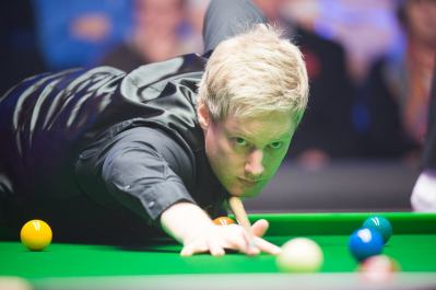 Neil Robertson. Picture courtesy of Monique Limbos