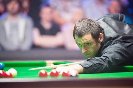 Ronnie O'Sullivan. Picture courtesy of Monique Limbos