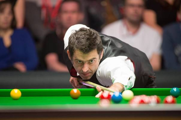 Ronnie O'Sullivan. Picture by Monique Limbos