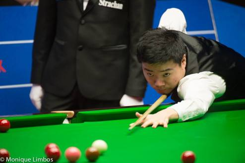 Ding Junhui. Picture by Monique Limbos