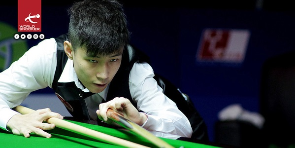 Zhao Xintong. Picture: World Snooker
