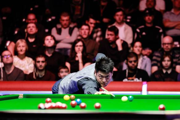 Liang Wenbo. Picture courtesy of World Snooker